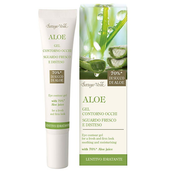 Gel pentru ochi cu extract de aloe vera - Aloe, 15 ML