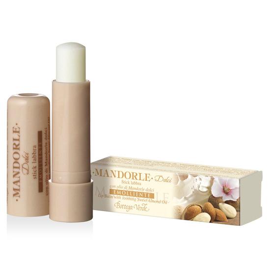 Balsam de buze cu ulei de migdale dulci, incolor - Mandorle, 5 ML
