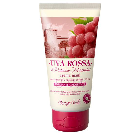 Crema de maini cu extract de struguri rosii si zaharuri din struguri - Uva Rossa, 75 ML