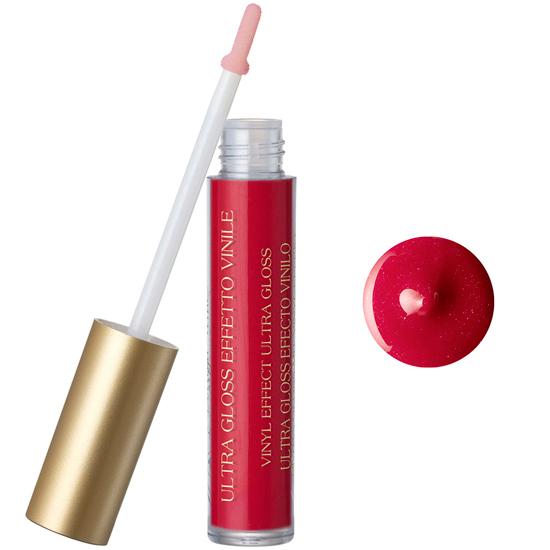 Luciu de buze cu extract de piersica si vitamina E, rosu aprins (5 ML)