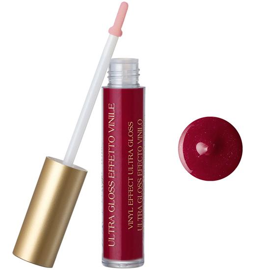 Luciu de buze cu extract de piersica si vitamina E, rosu rubin (5 ML)