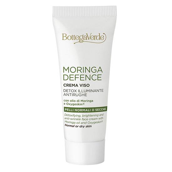 Travel size - Crema de fata, de zi detoxifianta cu ulei de Moringa si Oxygeskina - Moringa Defence, 20 ML