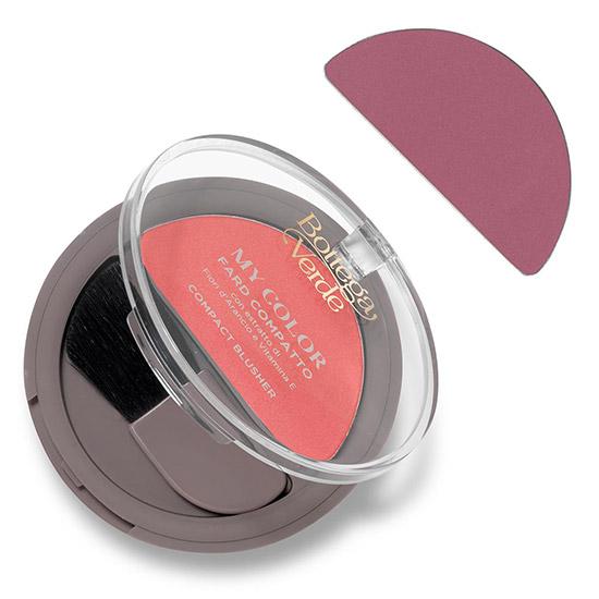 Fard de obraji, hidratant, cu extract de flori de portocal si vitamina E, roz vintage - My color