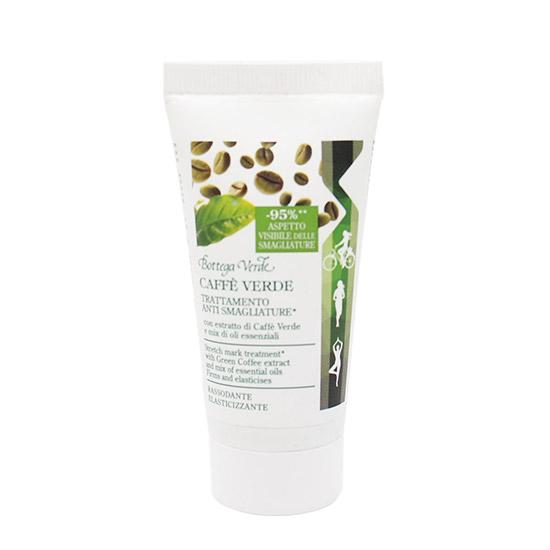 Crema de corp, impotriva vergeturilor, cu extract de caffe verde si uleiuri esentiale - Caffè Verde, 30 ML