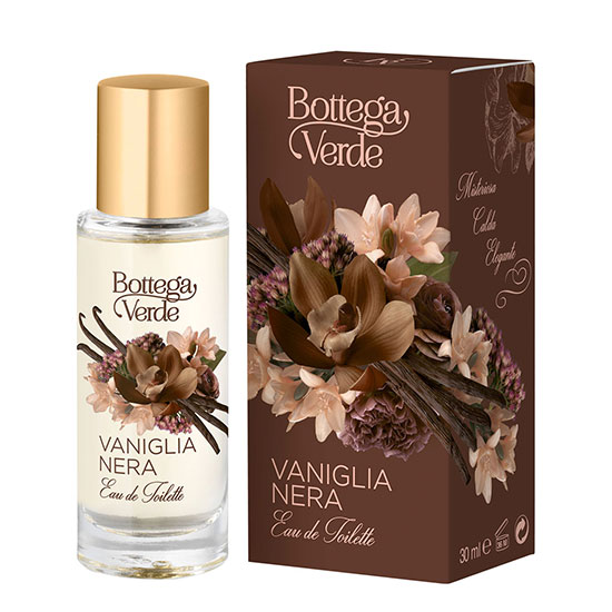 Apa de toaleta cu aroma de vanilie neagra - Vaniglia Nera, 30ML