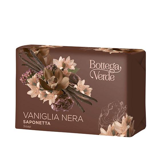Sapun solid, delicat, cu aroma de vanilie neagra - Vaniglia Nera, 150 G