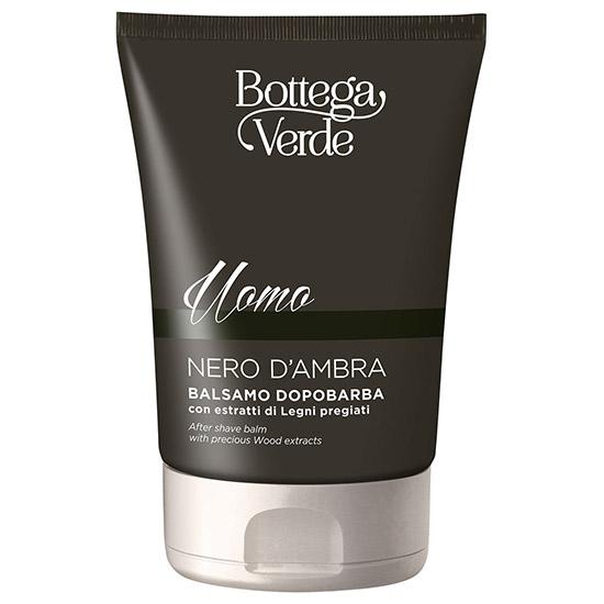 After shave, hidratant, cu extract de lemn pretios - Nero d'Ambra, 75 ML