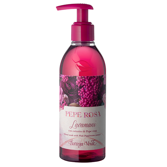 Sapun lichid cu extract de piper roz - Pepe Rosa, 250 ML