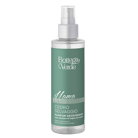 Parfum deodorant, intens hidratant, cu extract de lemn de cedru - Cedro Selvaggio, 150 ML