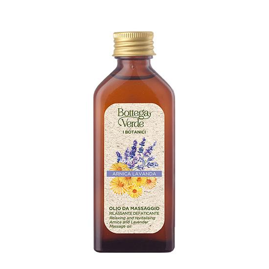 Ulei de masaj, cu ulei esential de lavanda - I Botanici Di Bv, 100 ML