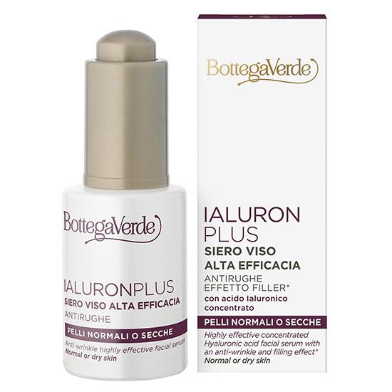Ser cu efect anti-rid si filler, conceput pentru toate tipurile de ten, cu acid hialuronic - Ialuron Plus, 30 ML