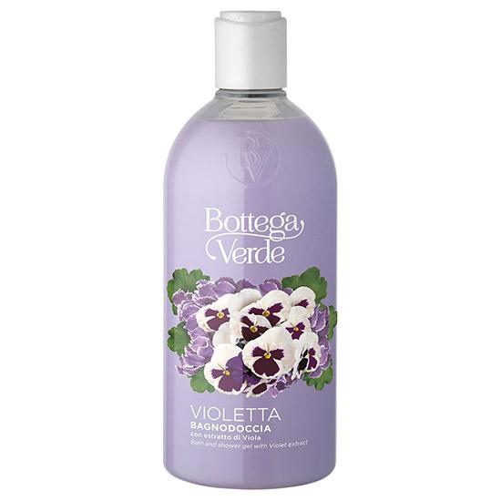 Gel de dus, hidratant, cu extract de violete - Violetta, 400 ML