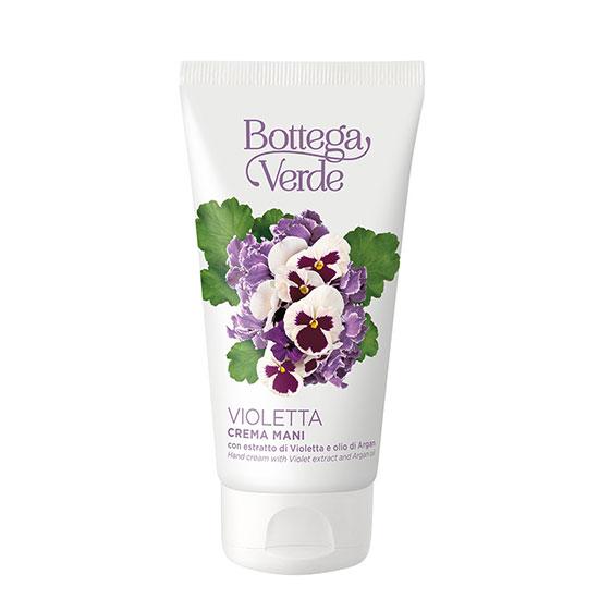 Crema de maini, hidratanta, cu extract de violete - Violetta, 75 ML