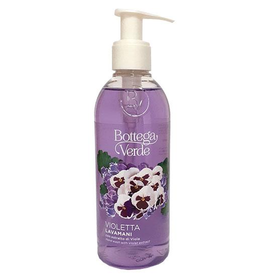 Sapun lichid, hidratant, cu extract de violete - Violetta, 250 ML