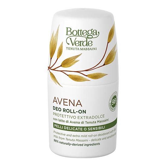 Deodorant roll-on, pentru piele delicata si sensibila, cu lapte de ovaz - Avena, 50 ML