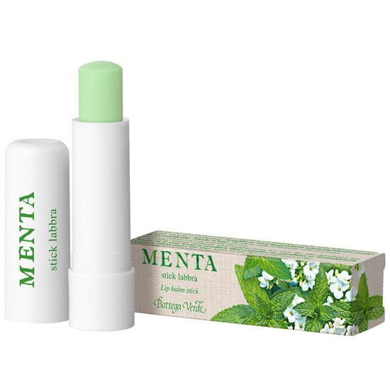 Balsam de buze cu extract de menta, verde menta - Menta, 5 ML