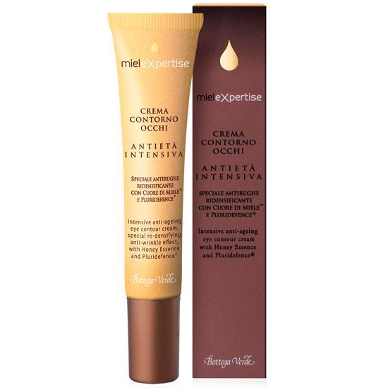 Crema antirid pentru zona din jurul ochilor cu miere si Pluridefence - Mielexpertise, 15 ML