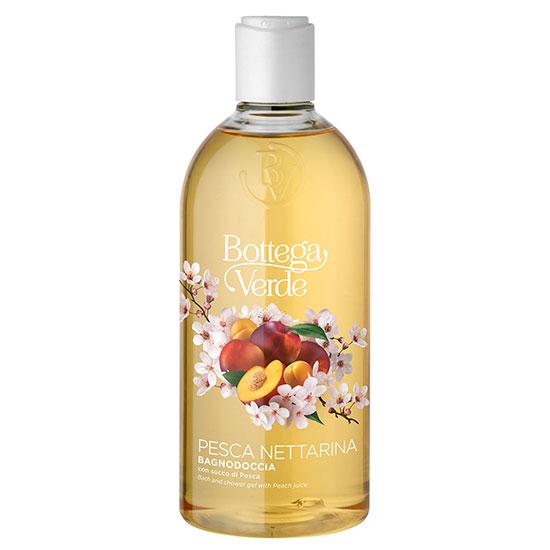 Gel de dus, hidratant, cu aroma de nectarine  - Pesca Nettarina, 400 ML