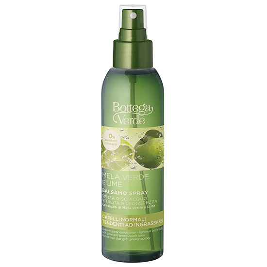 Balsam de par, fara clatire, cu lime si mar verde - Mela Verde, 150 ML