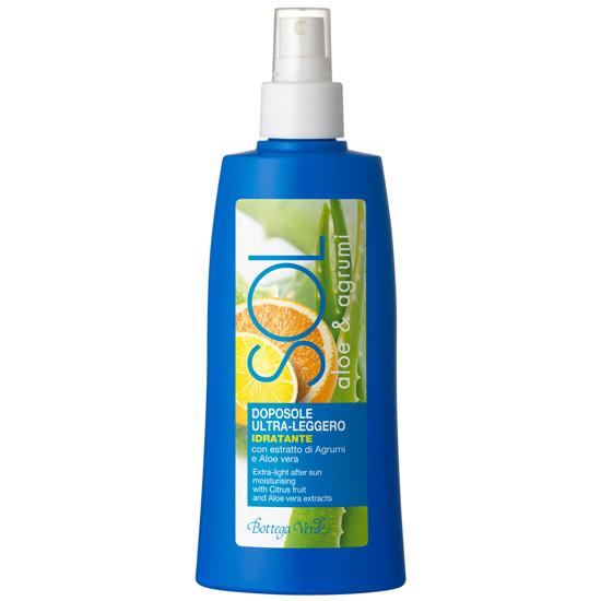 Spray hidratant dupa plaja cu citrice si extract de aloe vera - Sol, 200 ML