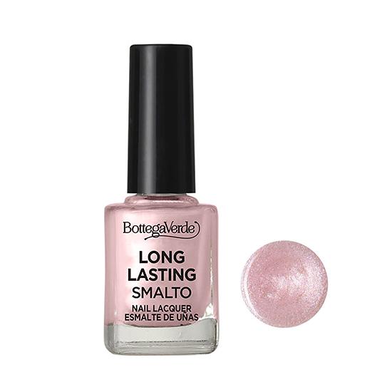 Lac de unghii stralucitor, roz sidefat - Smalto, 10 ML