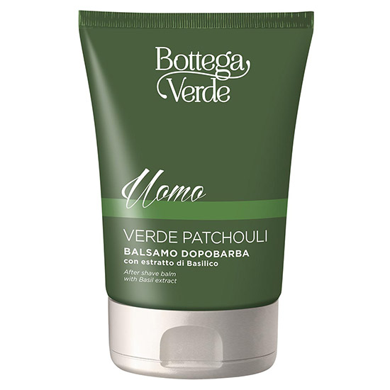 Balsam dupa barbierit cu extract de busuioc - Verde Patchouli, 75 ML