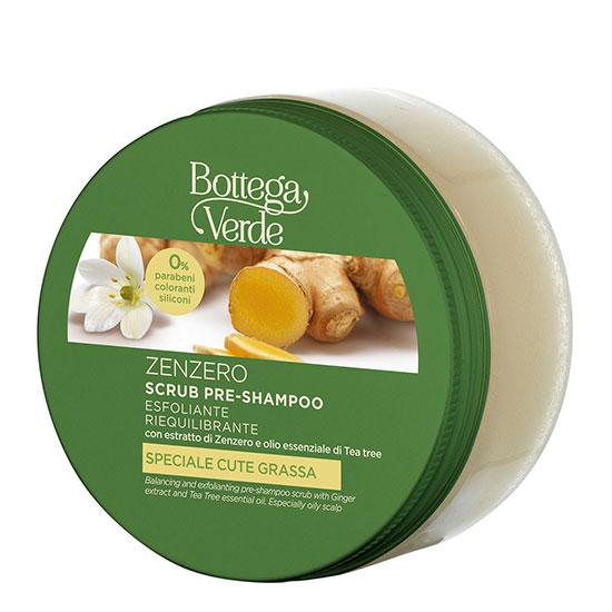 Scrub pentru scalp cu extract de ghimbir - Zenzero, 150 ML