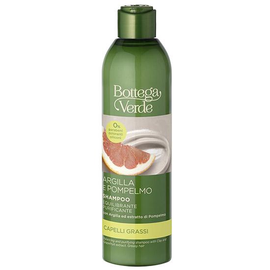 Sampon purificant, cu extract de grapefruit si argila - Argilla Pompelmo, 250 ML