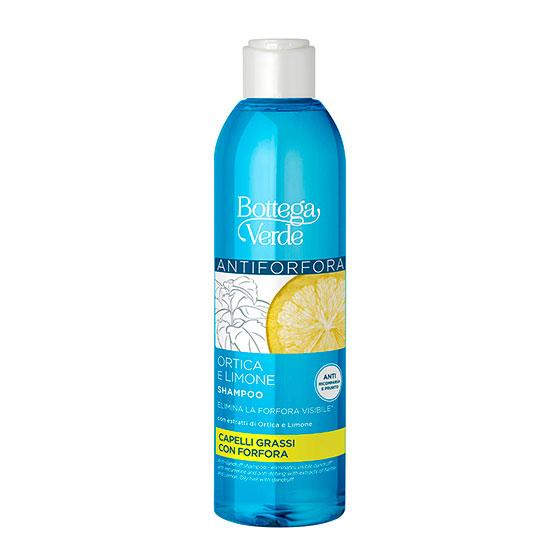 Sampon anti-matreata cu extract de urzica si lamaie - Ortico e limone, 250 ML