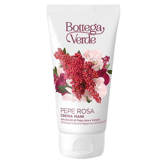 Crema de maini cu extract de piper roz si vanilie - Pepe Rosa, 75 ML