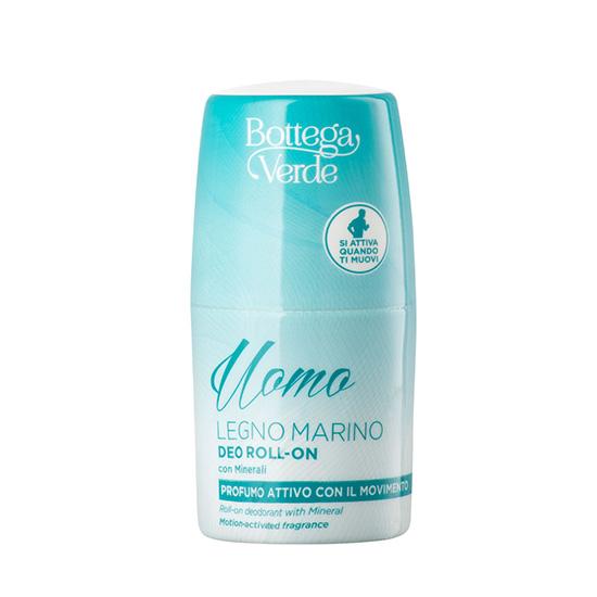 Deodorant roll-on cu aroma lemnoasa - Legno Marino, 50 ML