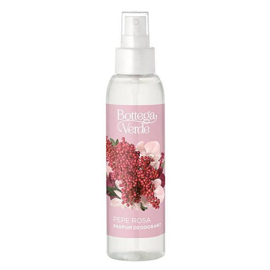 Parfum deodorant, hidratant, cu extract de piper roz - Pepe Rosa, 125 ML