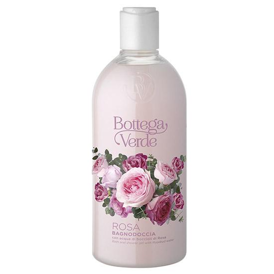 Gel de dus cu aroma de trandafiri - Rosa