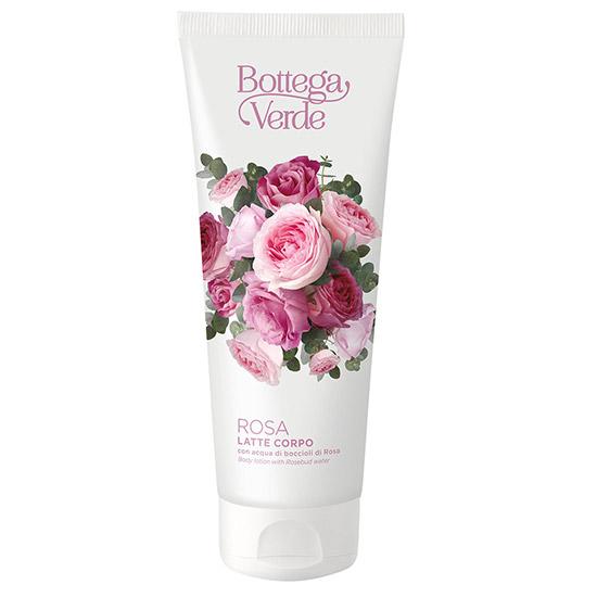 Lapte de corp cu aroma de trandafiri - Rosa, 200 ML
