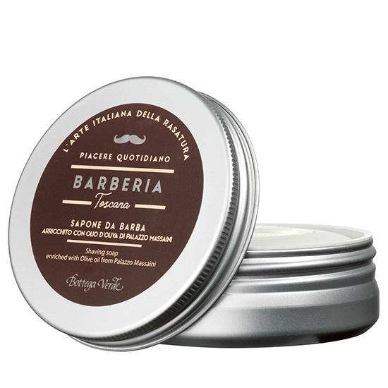 Sapun barbierit, hidratant, cu ulei de masline de la Palatul Massaini - Barberia Toscana, 100 G