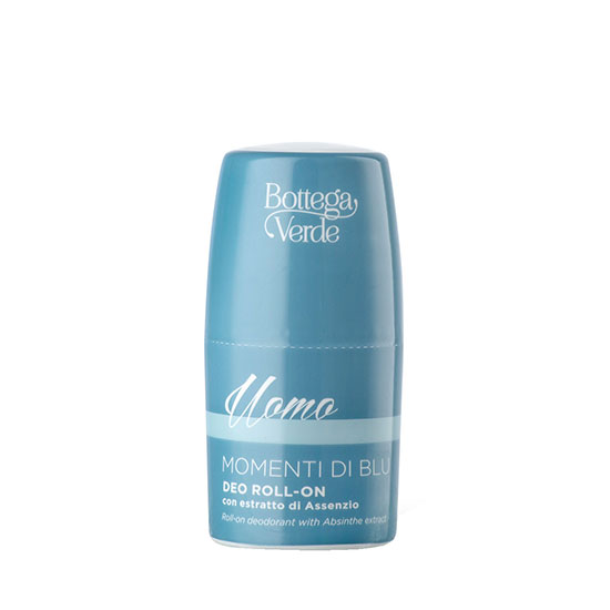 Deodorant roll-on delicat, cu extract de absint - Momenti di Blu, 50 ML