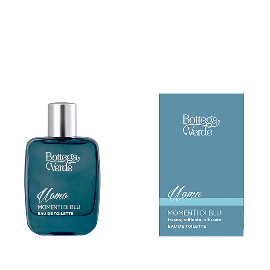Apa de toaleta cu aroma fresh - Momenti di Blu, 50 ML