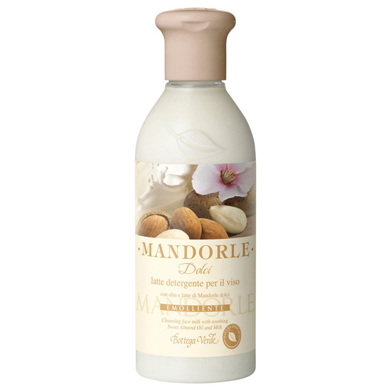 Lapte demachiant cu ulei si lapte din migdale dulci - Mandorle, 250 ML