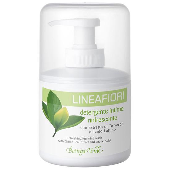 Sapun lichid pentru igiena intima cu extract de ceai verde si acid lactic - Lineafiori  (200 ML)
