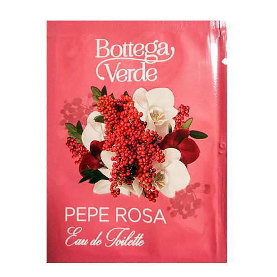 Mostra apa de toaleta cu aroma de piper roz - Pepe Rosa, 1.5 ML