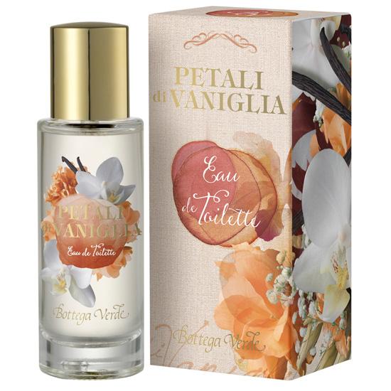 Apa de toaleta cu aroma de vanilie - Petali di Vaniglia, 30 ML