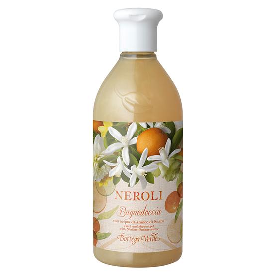 Neroli - Gel de dus cu apa de portocale din Sicilia  (400 ML)