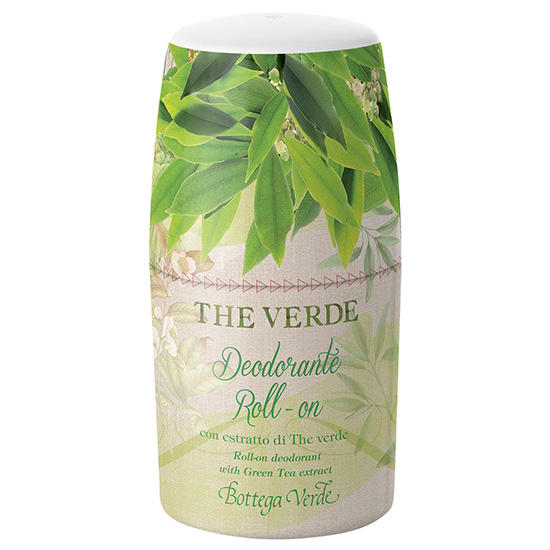 Deodorant roll-on cu extract de ceai verde - The Verde, 50 ML