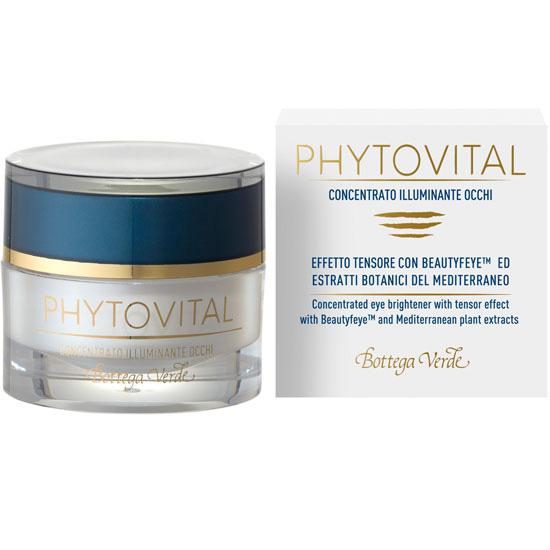 Tratament pentru zona din jurul ochilor cu colagen marin si extracte botanice - Phytovital, 5 ML