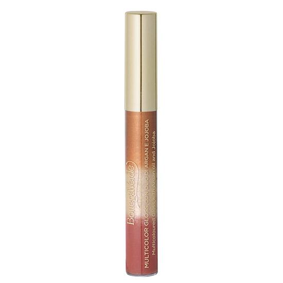 Luciu de buze, multicolor, cu extract de jojoba si ulei de argan, roz natural, 6.5 ML