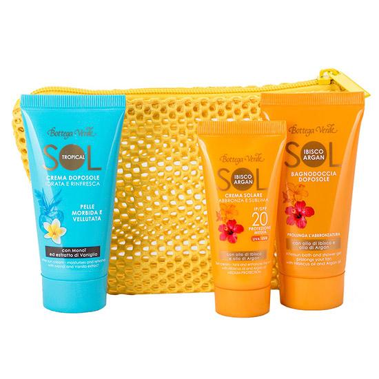 Set 3 mini produse pentru sezonul estival - Sol Ibisco Argan