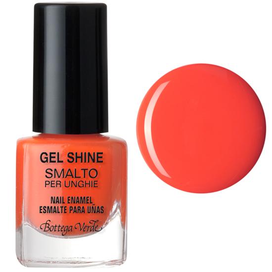 Lac de unghii, portocaliu pastel - Gel Shine  (5 ML)