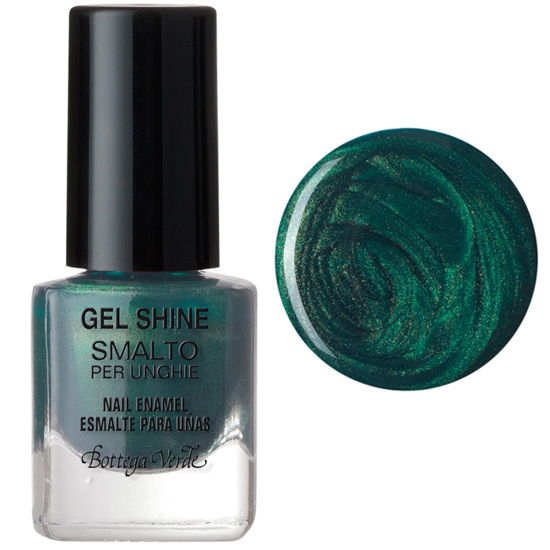 Lac de unghii, smarald - Gel Shine  (5 ML)