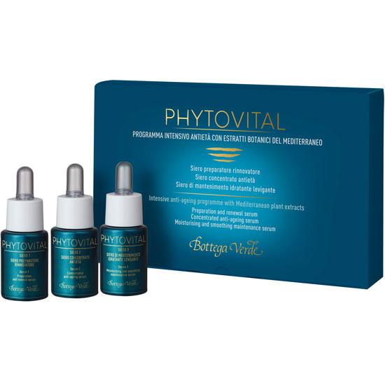 Ser anti-imbatranire, de noapte, pentru tenul matur, cu colagen marin si extracte botanice - Phytovital, 10 ML