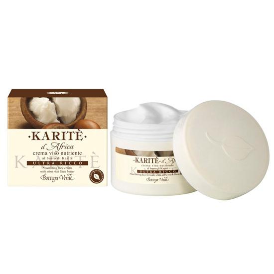 Crema nutritiva pentru fata cu unt de shea - Karitè, 50 ML